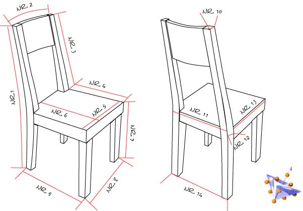 Beliebt Stuhlhussen zum Selbernähen - Schnittmuster nach Maß - Ideen zum PA23